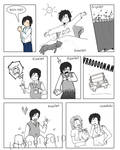 Yuuhi's Ordinary Day page 1 by haidokun14