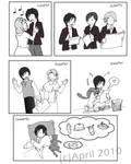 Yuuhi's Ordinary Day page 2 by haidokun14