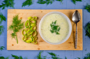 Cream of Leek Soup!
