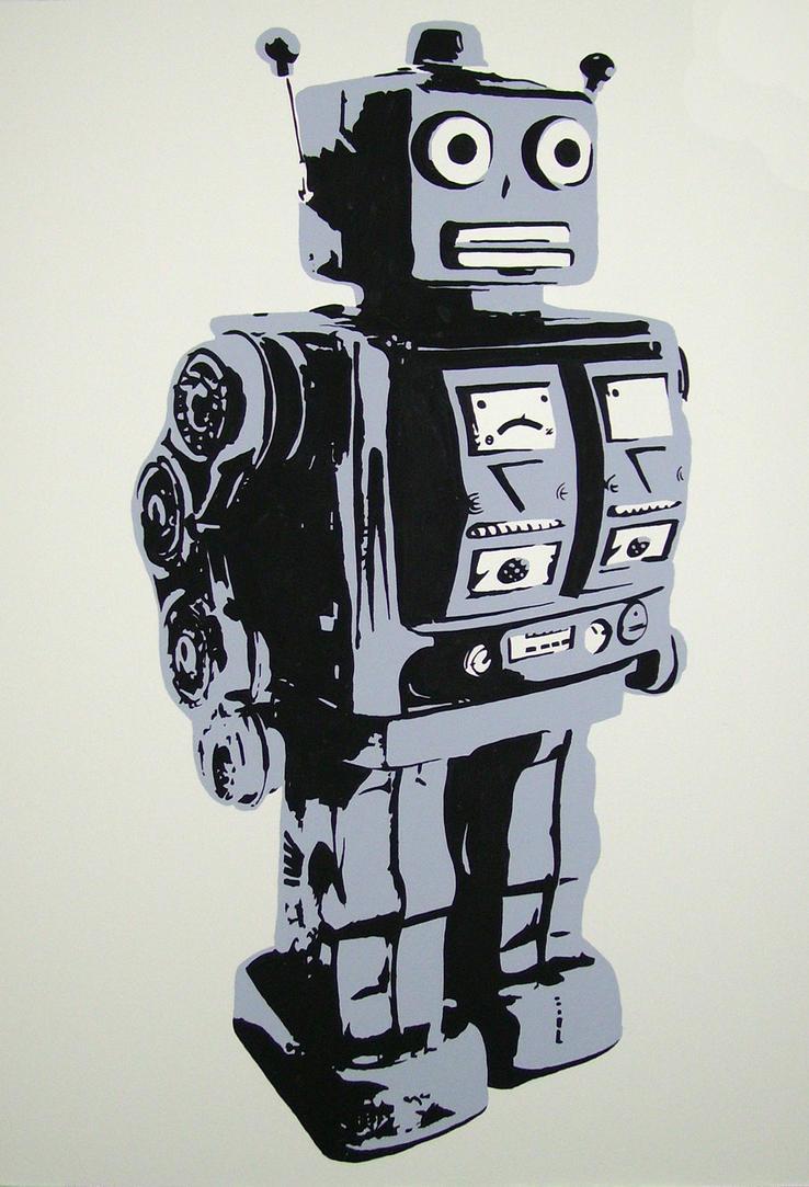 Mr Roboto by zachcherry