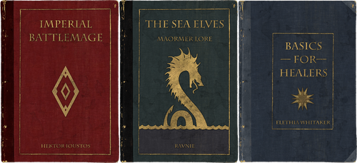 ESO - Lore books by Ravnie