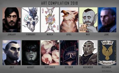 Art Compilation 2018 by Ravnie