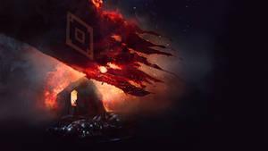 TES - Burning Imperial Banner
