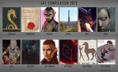 Art Compilation 2019