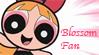Blossom Fan Stamp by Madame-Kikue