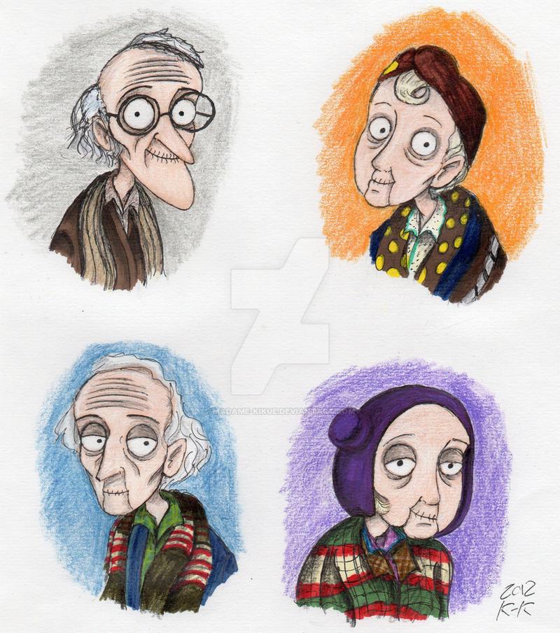 Charlie's Grandparents by Madame-Kikue