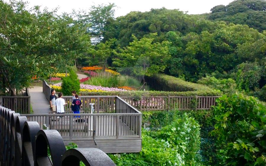Enoshima - Garden in Perspective View by Madame-Kikue on DeviantArt