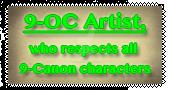 9-OC Artist Stamp by Madame-Kikue