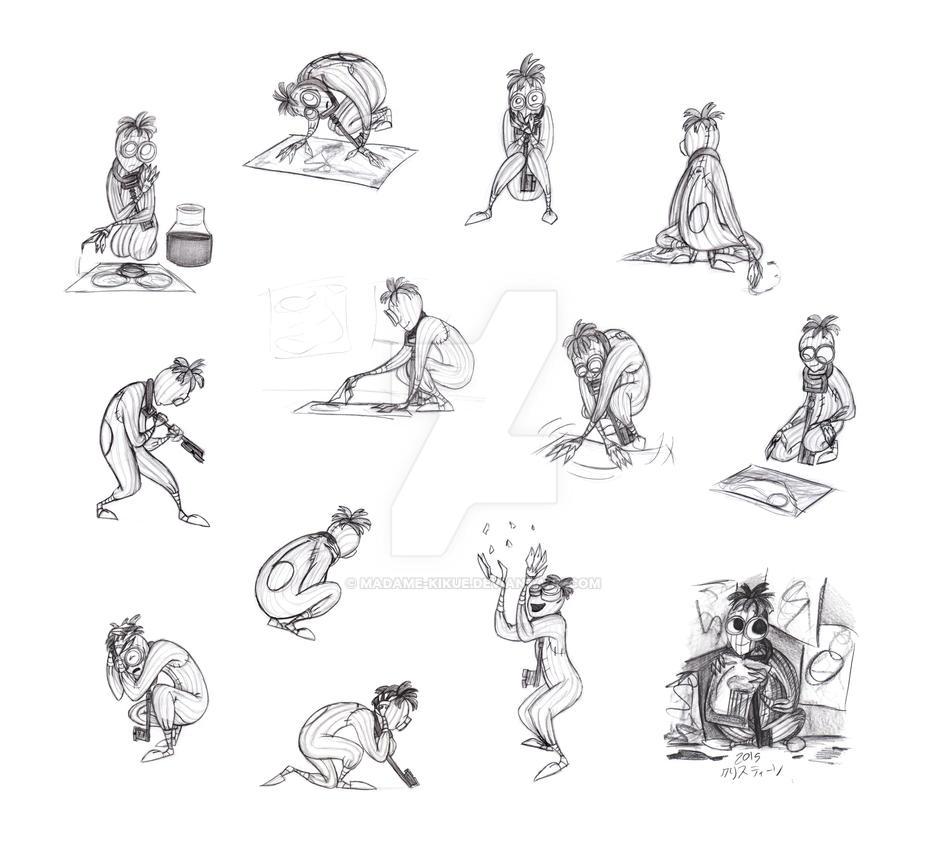 Poses Of 6 By Madame Kikue On Deviantart