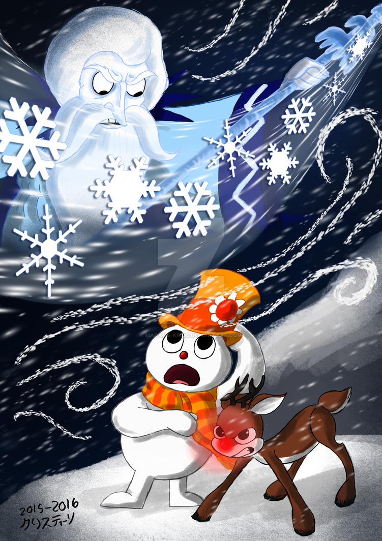 Rudolph and Frosty\'s Christmas in July by Madame-Kikue on DeviantArt