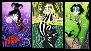 Neitherworld's Merfolks Triptych
