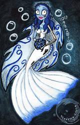 Corpse Mermaid by Madame-Kikue