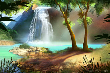Waterfall by masterBo