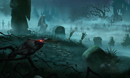 OMG! Cemetery by masterBo