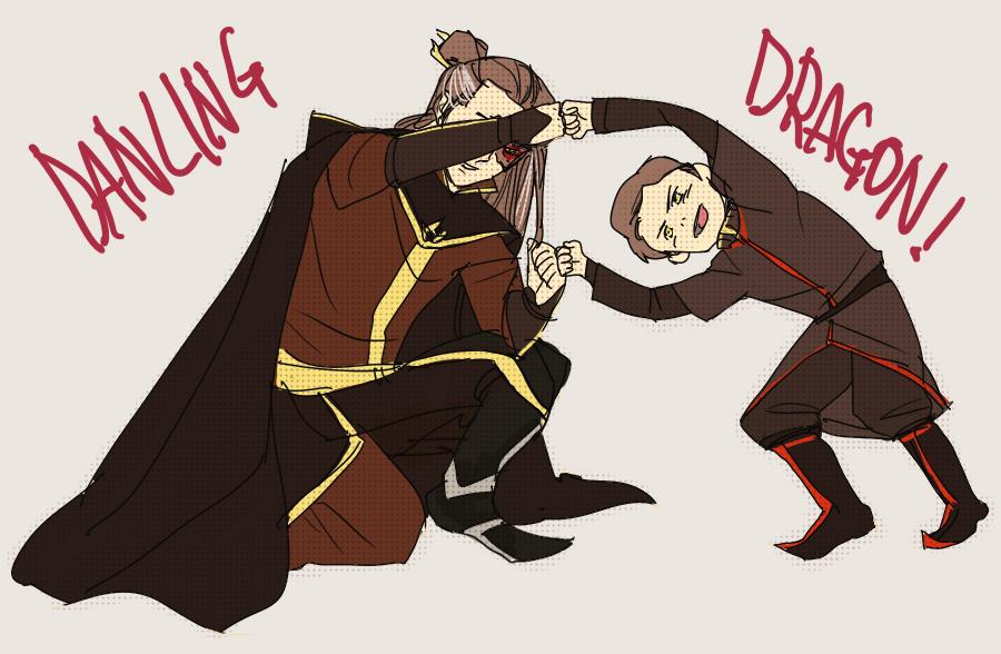 Dancing Dragon by telos0