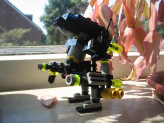 the district 9 mecha suit lego by LoneyAngel88