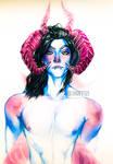 Watercolor demon   JHU