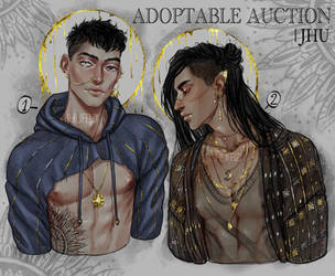 [CLOSED] Adoptable auction, golden boys | JHU by JHUffizi