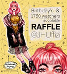[CLOSED] 1750 watchers RAFFLE | JHU by JHUffizi