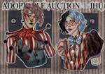 [CLOSED] Adoptable Auction, clowns | JHU
