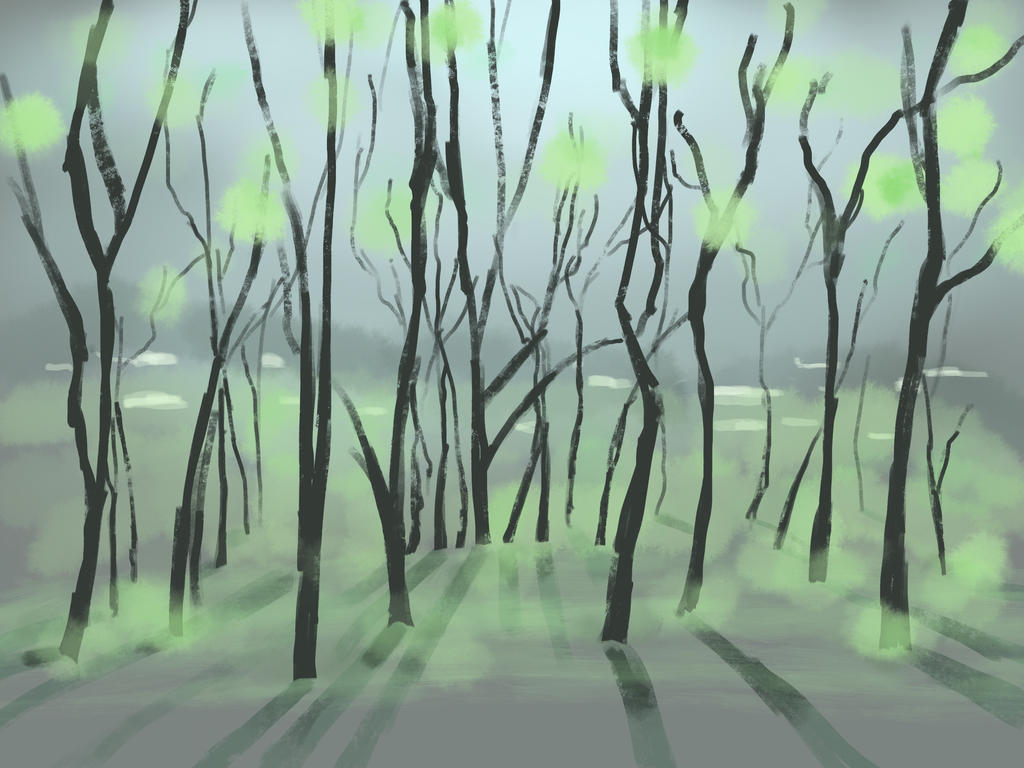 Impression of Glistening Forest by Tujion