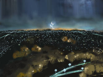 Alien world viewed from Shinta's Balcony by Tujion
