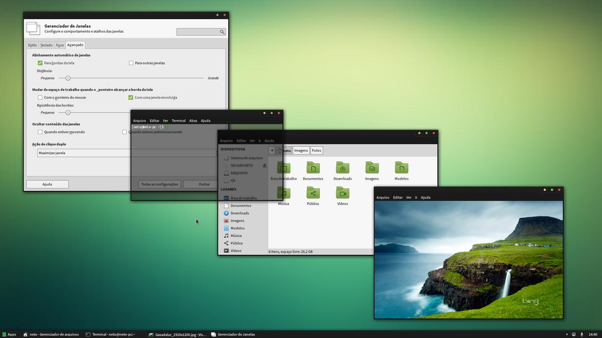 desktop update by netonardin