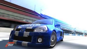 Blue Clio