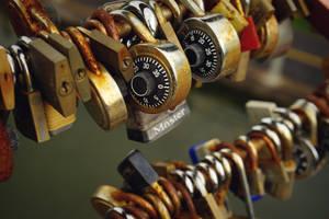 Love locks by aCreature