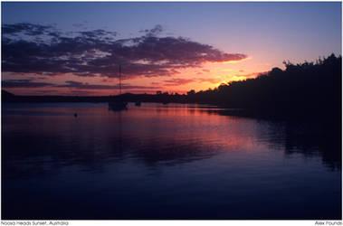 Noosa Heads Sunset, Australia by aCreature