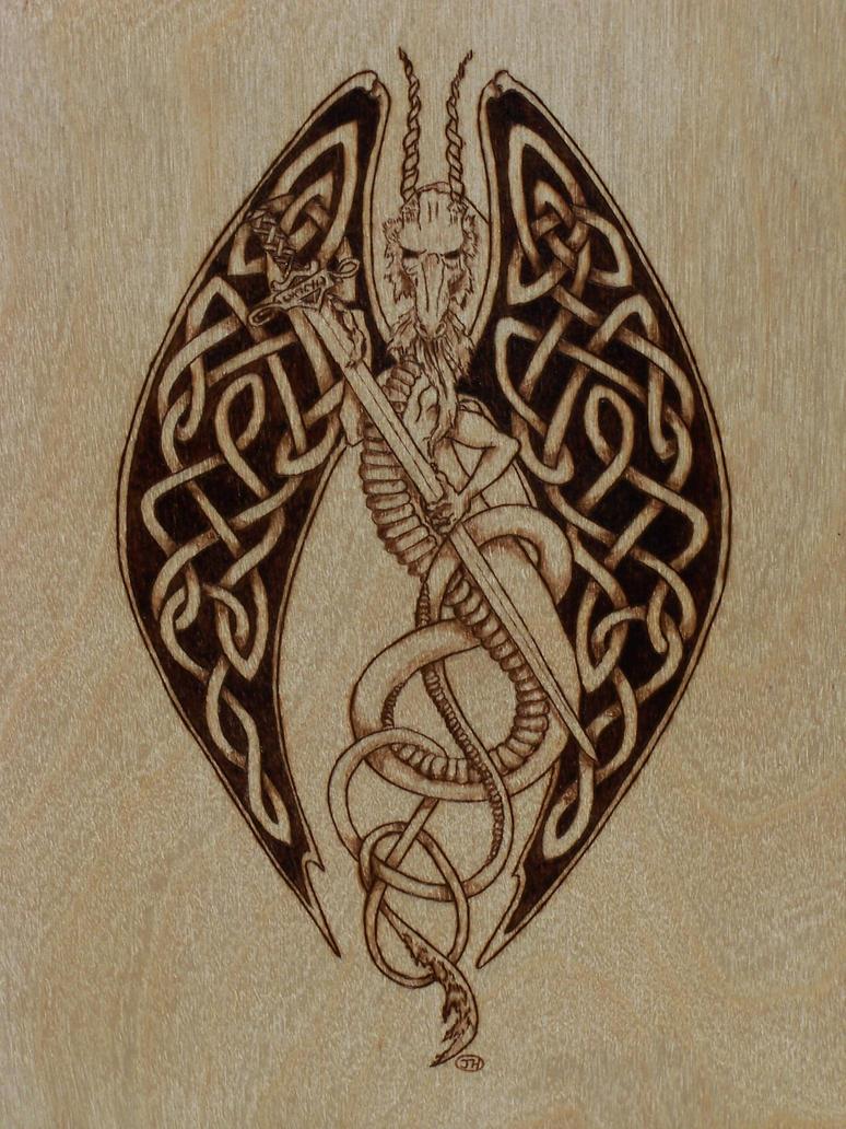 celtic flying dragon by shyhobbit on deviantart. Black Bedroom Furniture Sets. Home Design Ideas