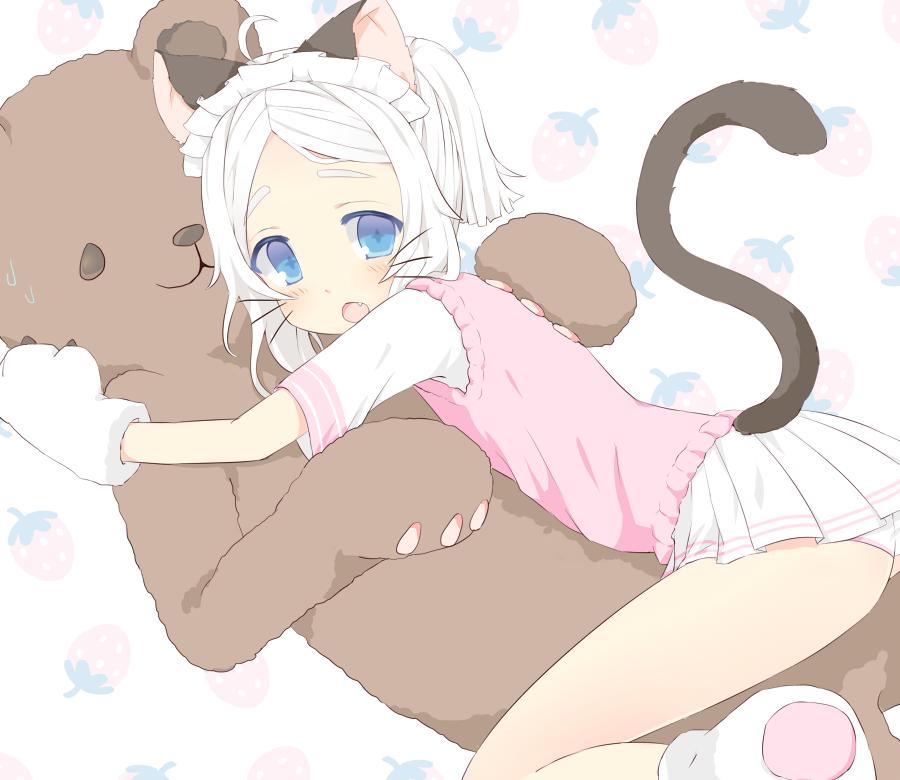 He is my Teddy! by susu-milk