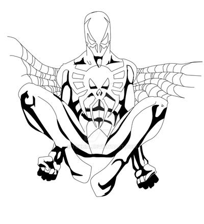 Spider man 2099 by tekuia on deviantart for Spider man 2099 coloring pages