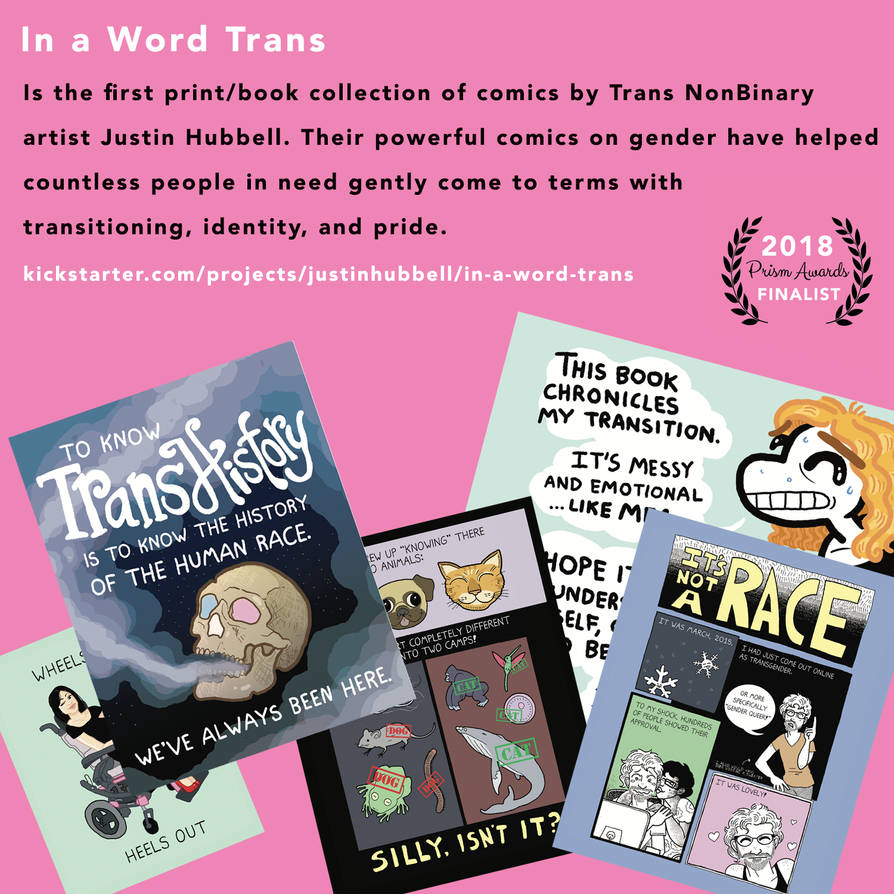 In a Word Trans Book by justinhubbell