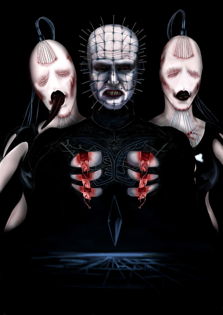 002 pinhead and wire twins by thehellboundweb on deviantart