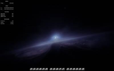 Neptune's Gaze, Current Desktop by VoidNu