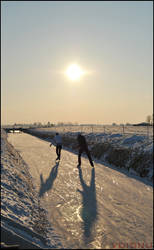 Ice Skating - Winter 2012 by VoidNu