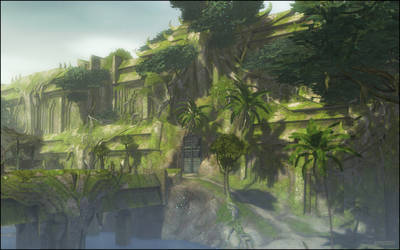 Guild Wars 2 - Temple Ruins by VoidNu