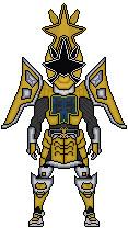 Gold Ranger Shogun Mode by green-antern47