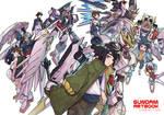 Gundam Artbook Compilation Cover
