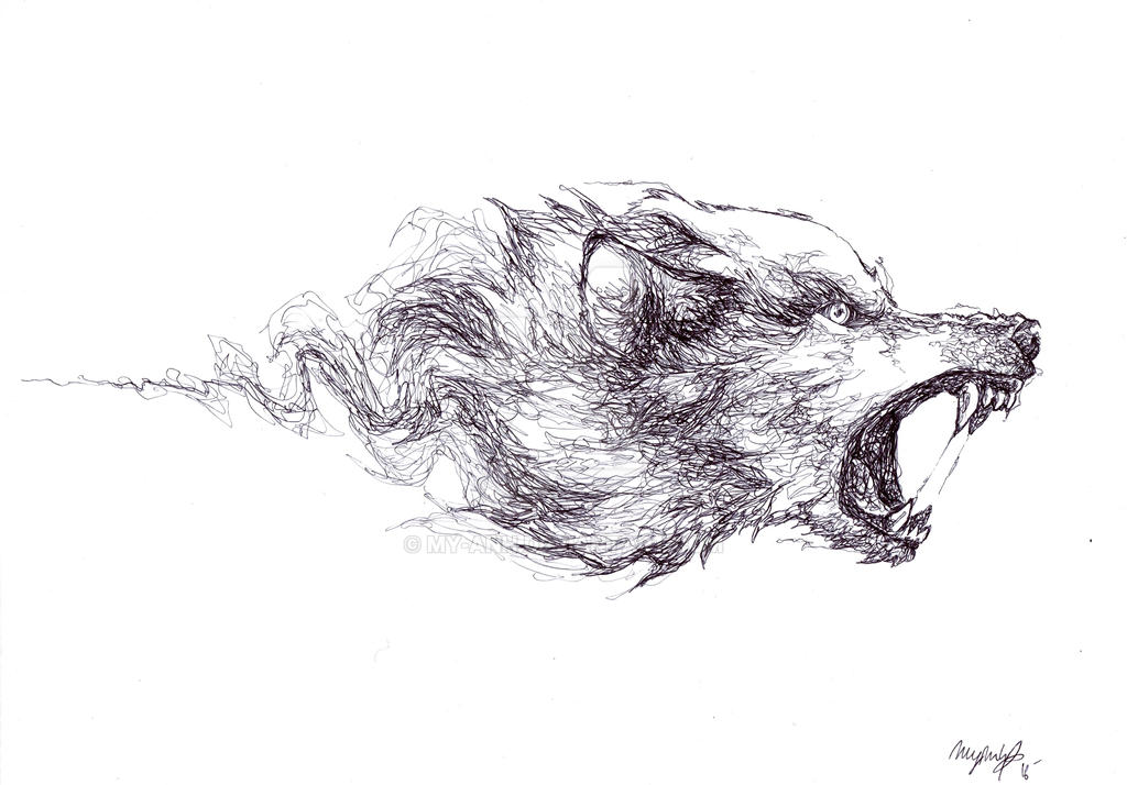 mad wolf drawings - photo #3