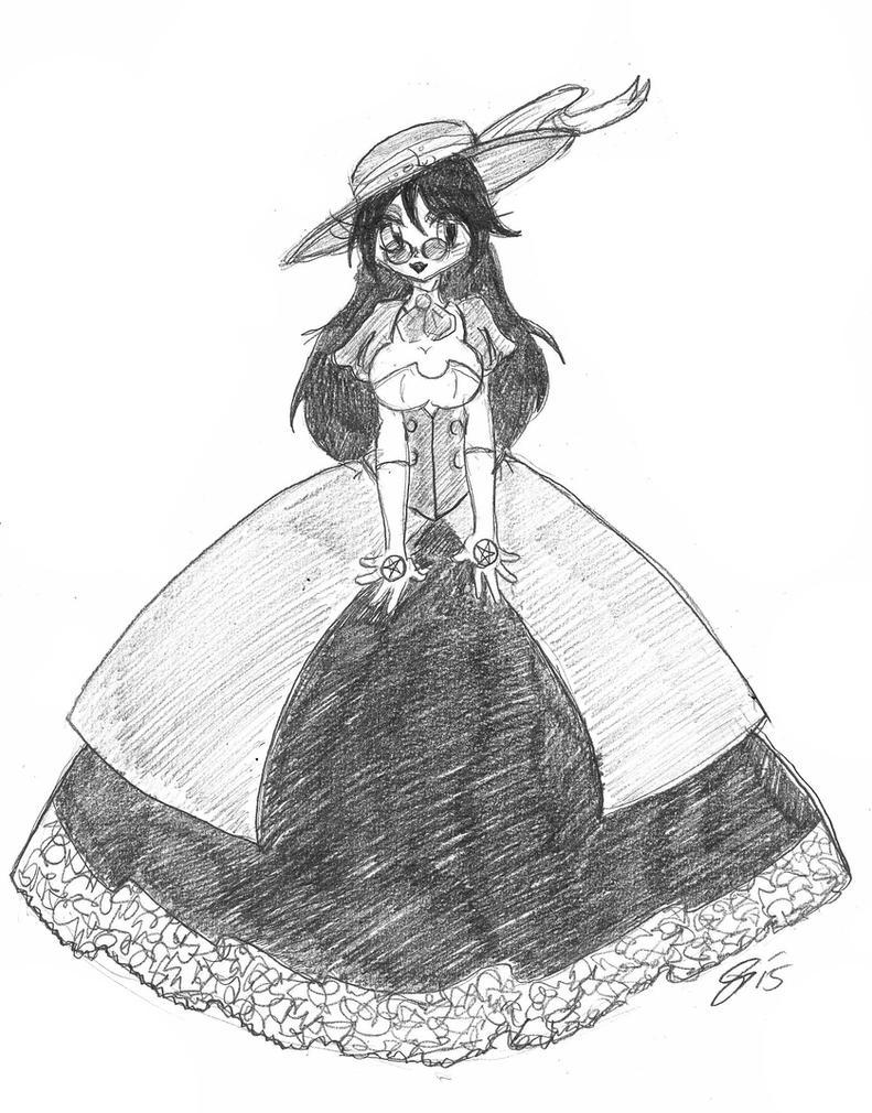 Lady Alucard by spawnfan