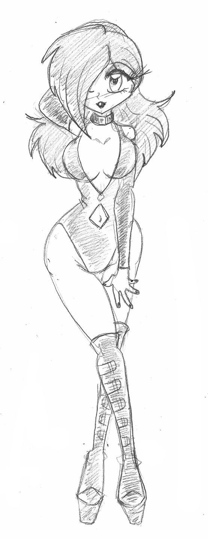 Ranma in Latex: Night Time Fun by spawnfan