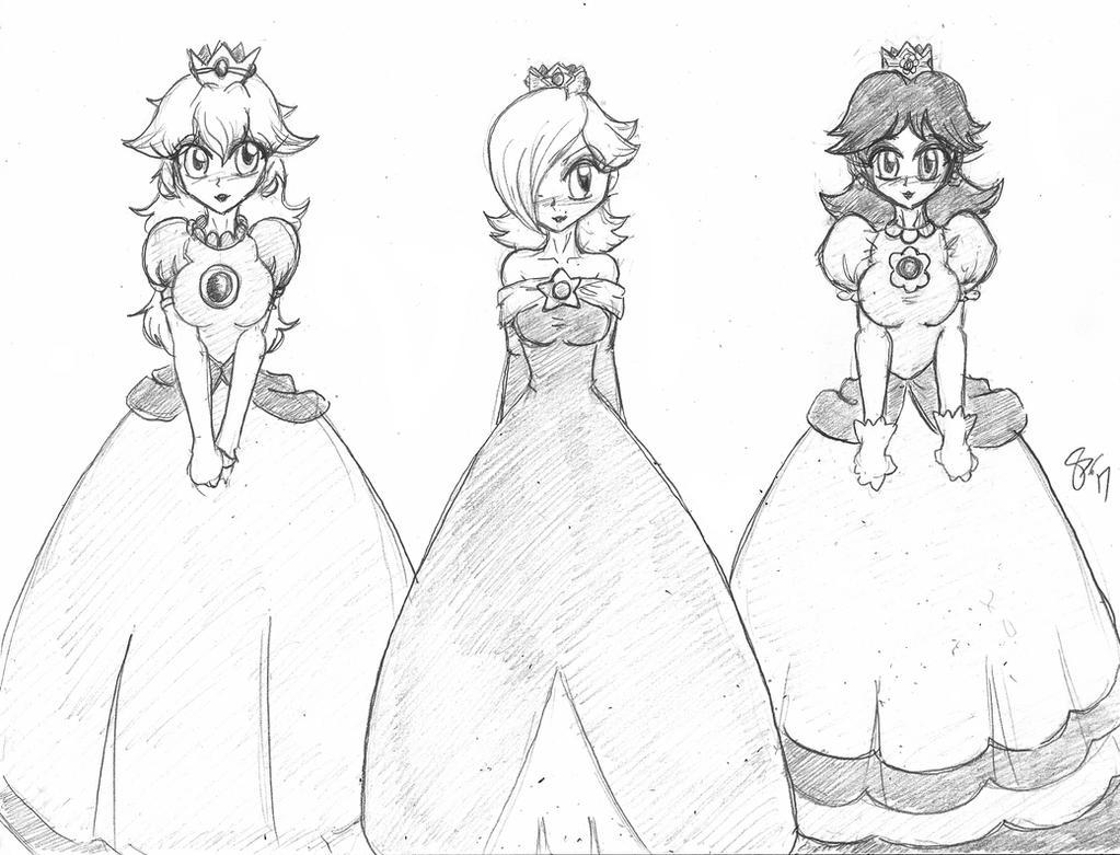 3 Princesses by Escafa