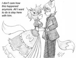 Lady Cat and Lord Fox