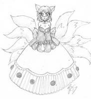 Kitsune Goddesss YCH by Escafa