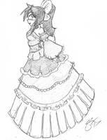 Kaname and the Magic Dress by Escafa