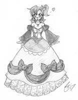 Bulma and the Magic Dress by Escafa