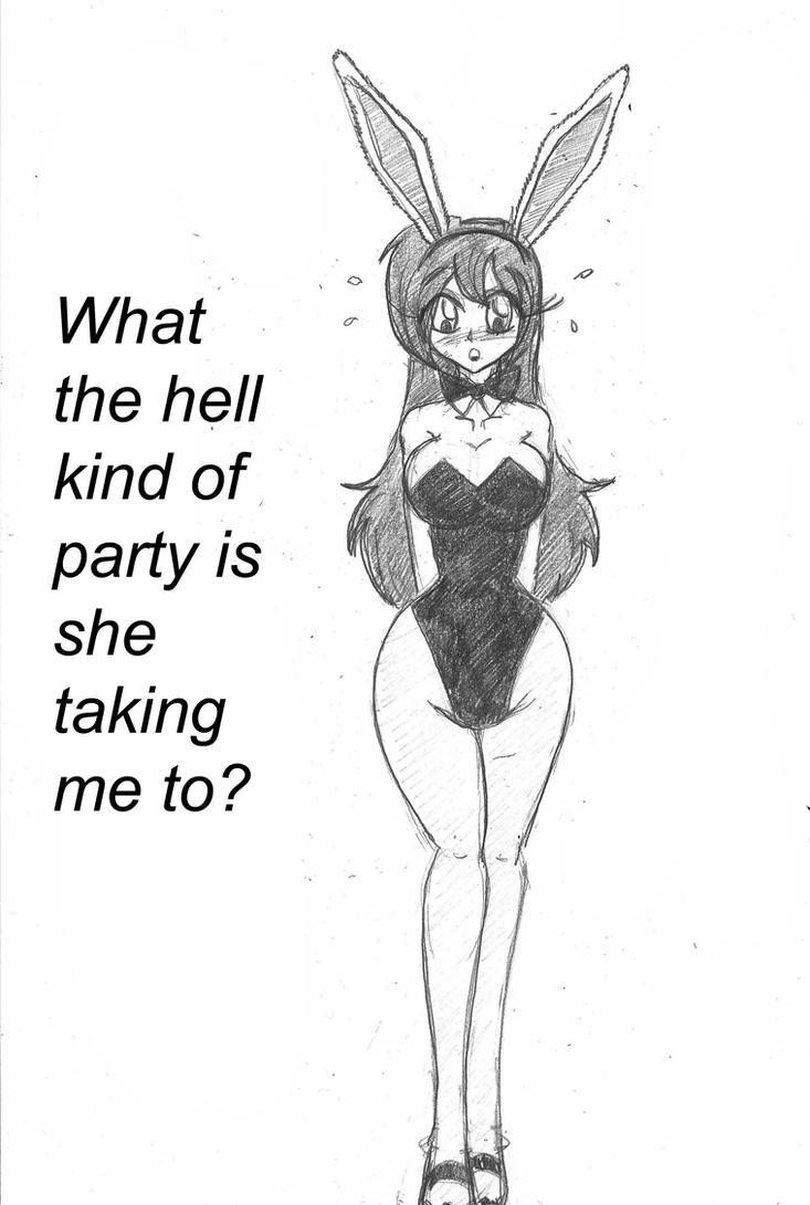 Bunny Party 12 by Escafa