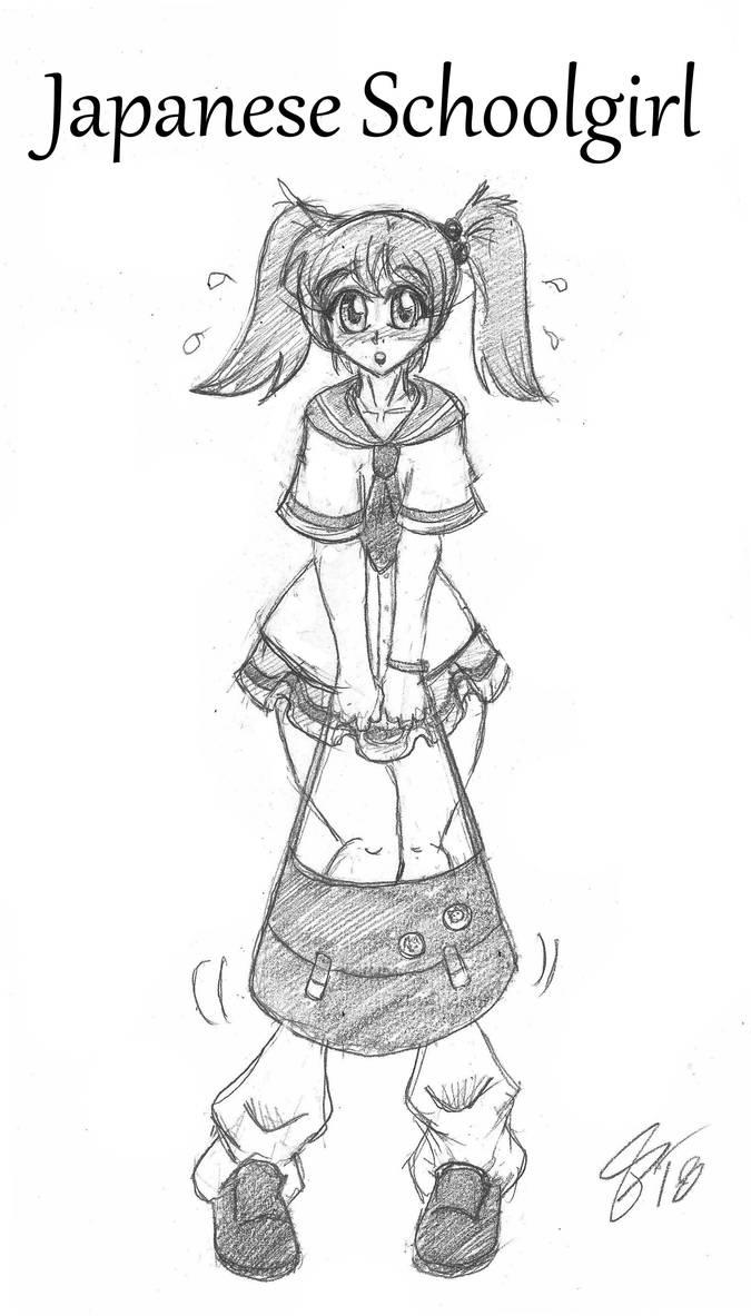 Kasey Tries On: Japanese Schoolgirl by Escafa